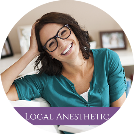 Dr. Van Horn Offers Local Anesthetic Sedation
